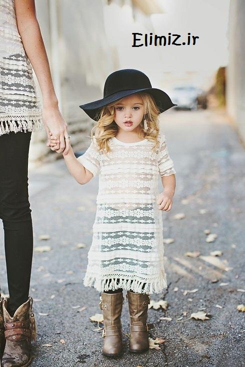 تیپ خوشگل دختر بچه
