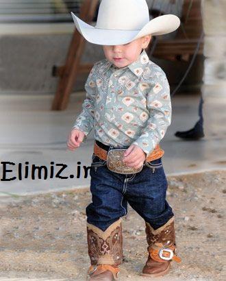 عکس پسر بچه کابوی