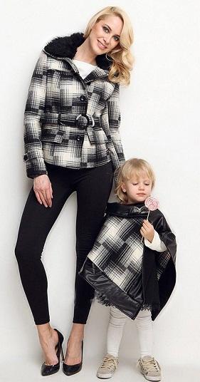 ست های جالب لباس مامان و بچه