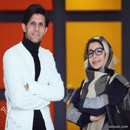 عکس های چهره های مشهور و بازیگران ایرانی با همسرانشان