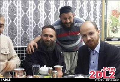 عکس پسر رئیس جمهور ترکیه در کنار رهبران داعش