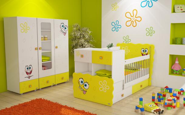 عکس جدیدترین مدل های تخت و کمد کودک