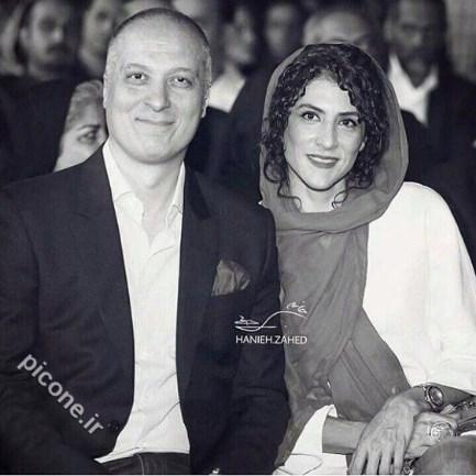 ویشکا آسایش در کنار همسرش / عکس