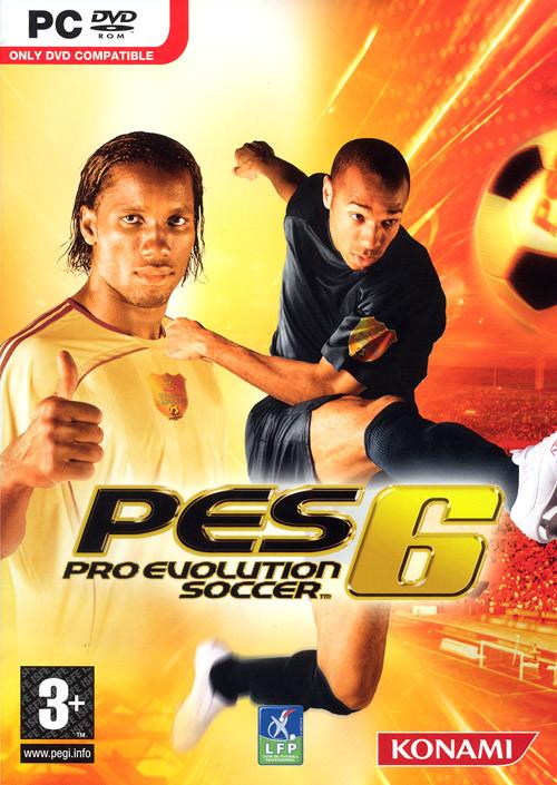 دانلود  بازی Pro Evolution Soccer 6 برای کامبیوتر