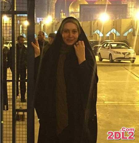 عکس بدون آرایش بازیگر زن ایرانی در عراق