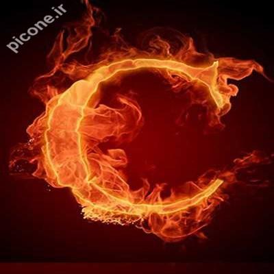 عکس تمام حروف آتشین انگلیسیpicone.ir