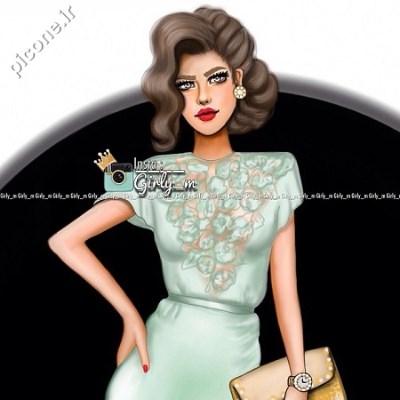 عکس های جدید دخترانه نقاشی شده picone.ir