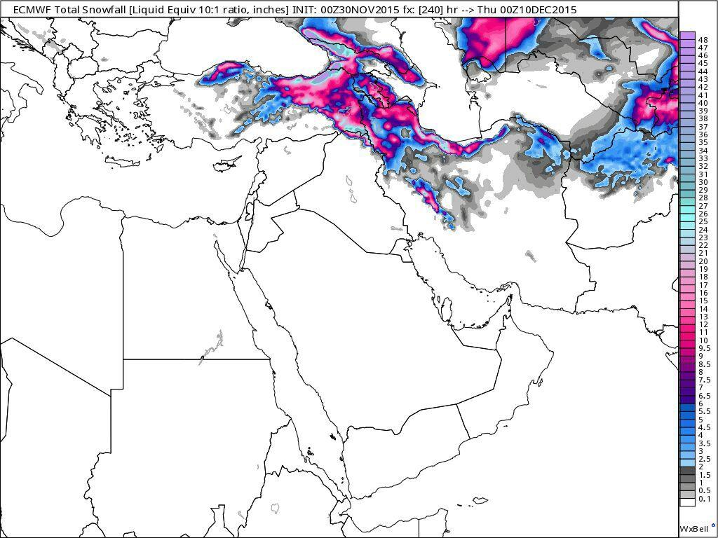 موج سرما!برف در نیمی از کشور!سرمای شدید در راه!