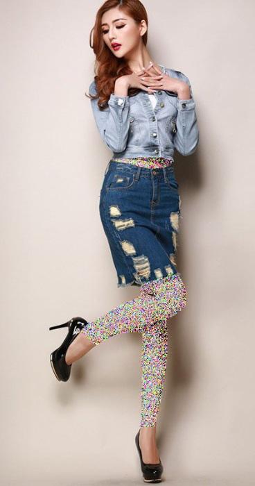 زيباترين مدل بلوز دامن لباس كره ای برای دختران شيک پوش 95