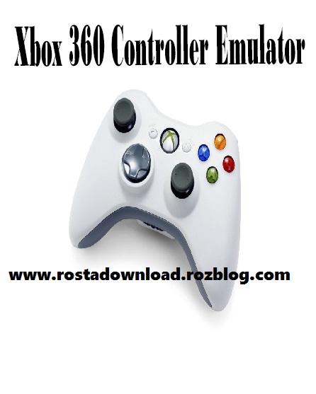 دانلود نرم افزار شبه ساز کنترل Xbox 360  برای بازی های کامپیوتر