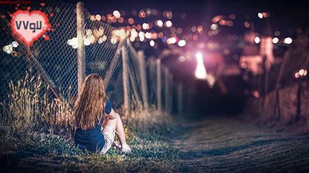عکس تنهایی , عکس تنهایی دختر , عکس عاشقانه انتظار , عکس زیبای دختر تنها , عکس اچ دی عاشقانه ,