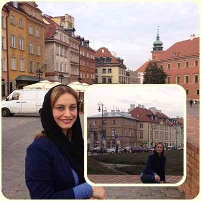 عکسهای مریم کاویانی در ورشو لهستان | WwW.ActorFans.IR