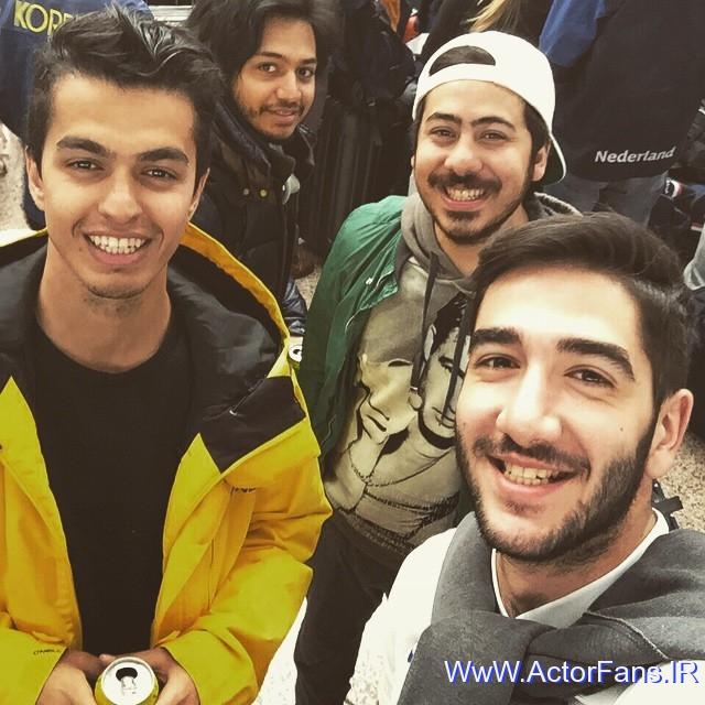 جدیدترین عکسهای بهزاد لیتو در بهمن 93 | WwW.ActorFans.IR