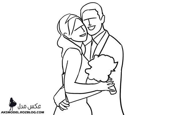 ژست های عکس گرفتن عروس و داماد