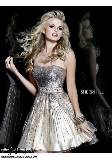 http://aksmodel.rozblog.com - مدل شیک لباس مجلسی کوتاه گیپور