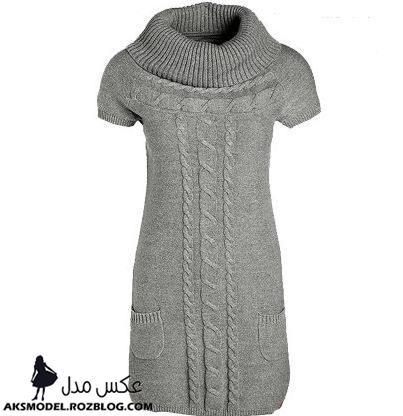 http://aksmodel.rozblog.com - مدل مانتو بافتنی طرح سارافون زمستانی