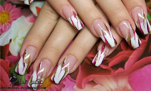 مدل های جدید طراحی روی ناخن - http://aksmodel.rozblog.com
