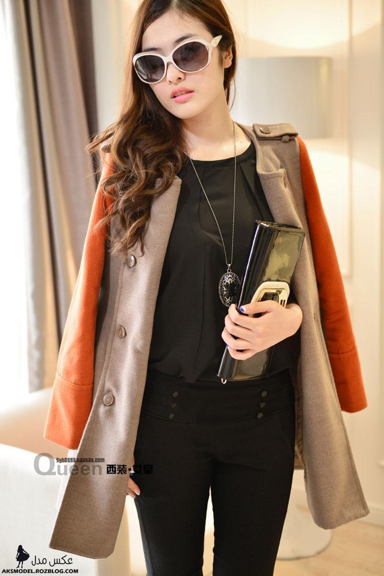 مدل های پالتو کوتاه جدید دخترانه کره ای 92