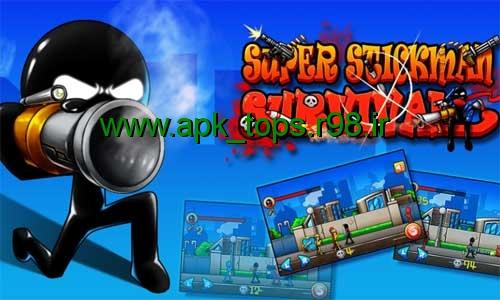 دانلود بازی Super Stickman Survival v1.0