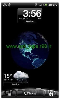 دانلود نرم افزار Earth At Night 3D Live Wallpaper v1.0.1