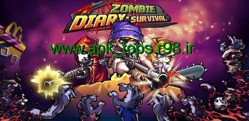دانلود بازی Zombie Diary: Survival v1.1.0
