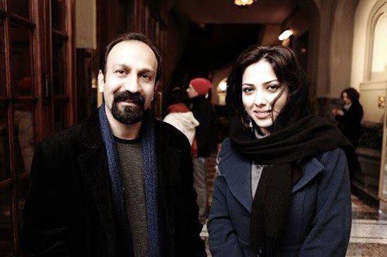 Image: Asghar Farhadi, Leila Otadi in Paris