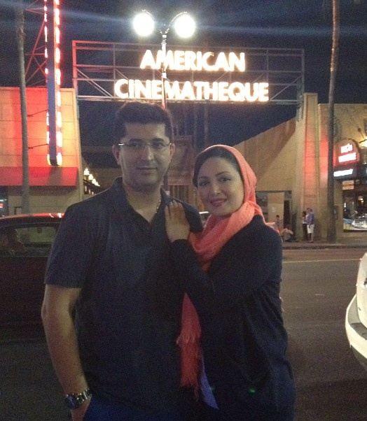 تک عکس جدید شیلا خداداد و همسرش در هالیوود