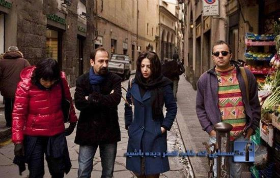 Asghar Farhadi, Leila Otadi in Paris