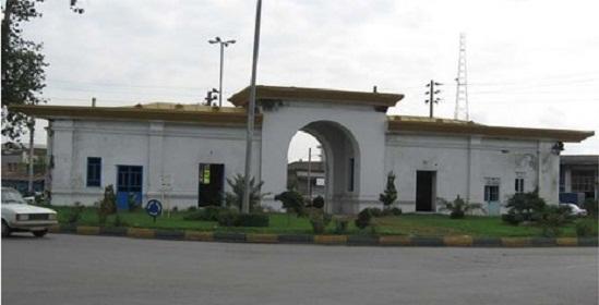 میدان دانشگاه بابل ( دروازه کاخ شاه بابل )