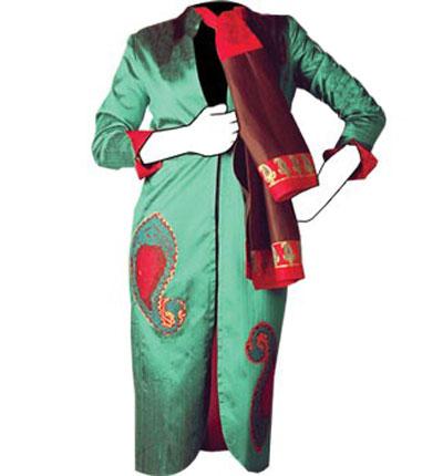 مدل مانتوهای مجلسی , دوخت مانتوهای سنتی