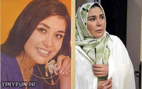 تصاویر جدید و قدیم بازیگران زن ایرانی