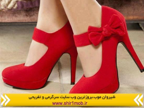 عکس کفش مجلسی زنانه پاشنه دار