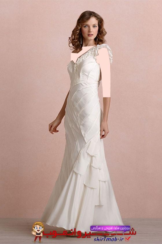 مدل لباس عروس خارجی 2014