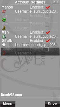 Slick messenger