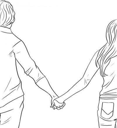 سری جدید نقاشی های عاشقانه دو نفره