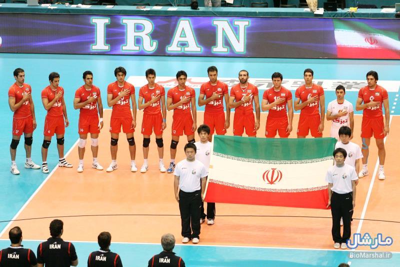 رونمایی از پوستر تیم ملی والیبال ایران در لیگ جهانی 2015