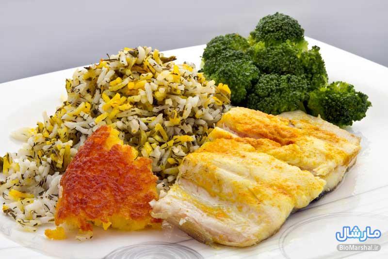 روش پخت سبزی پلو ماهی عید نوروز 94