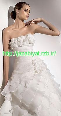 عکس مدل لباس عروس زیبا