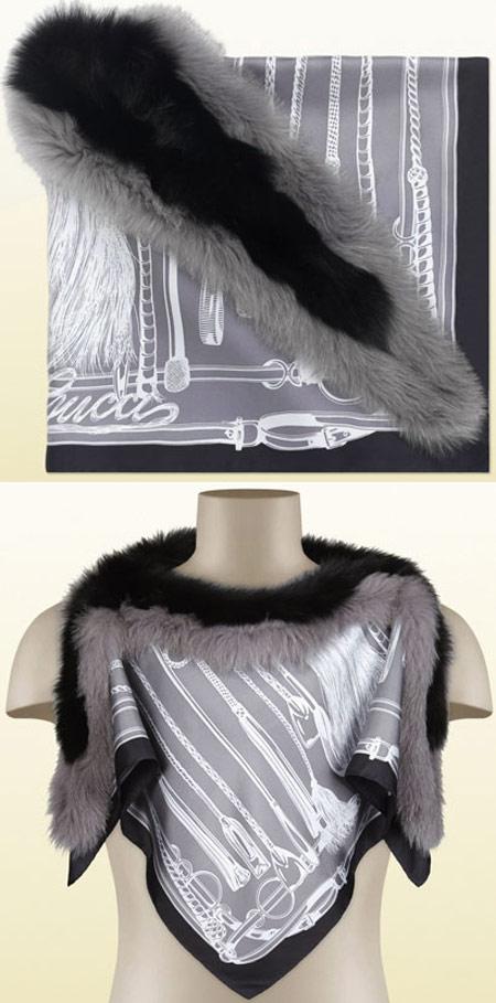 جدیدترین مدل های شال گردن برند Gucci