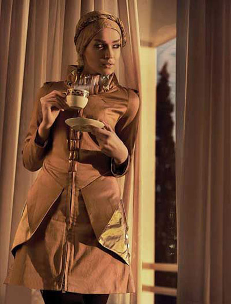 مدل مانتو رنگ مد سال 2014