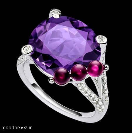 مدلهای انگشتر جواهر