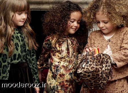 مدل لباس زمستانی بچه گانه برند Dolce & Gabbana