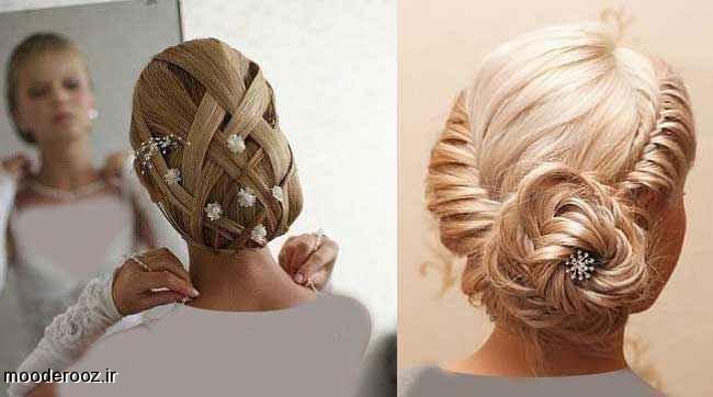 مدل های جدید مو عروس