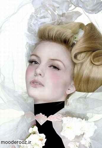 مدل مو عروس جدید