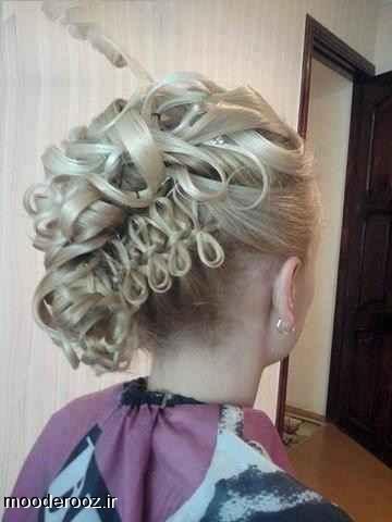 مدل آرایش مو زنانه مجلسی ۲۰۱۴
