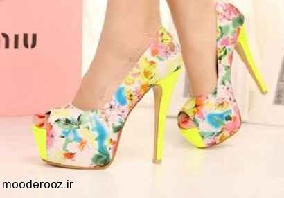 زیباترین مدلهای کفش پاشنه بلند مخصوص بهار 2014