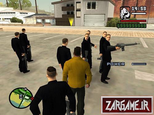 دانلود مود بادی گارد برای CJ در بازی GTA 5