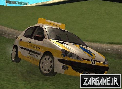 دانلود ماشین 206 امداد خودرو برای (GTA 5 (SanAndreas