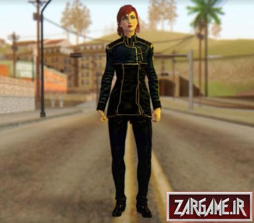 دانلود ورژن دوم اسکین دختر برای (GTA 5 (San Andreas