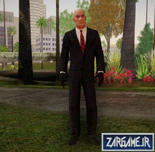 دانلود اسکین هیتمن برای GTA 5